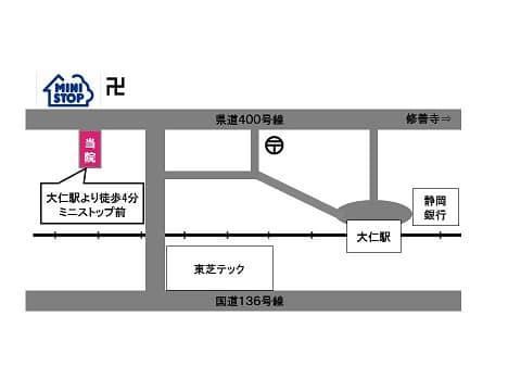 map 1 - アクセス・ご予約